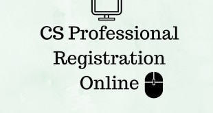 CS Professional Registration For June 2017 Online