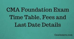 How to Apply For CMA Foundation Exam June 2017
