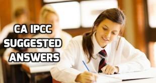 CA IPCC Suggested Answers Nov 2017
