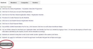 CS Online Exam Enrollment Process For June 2017
