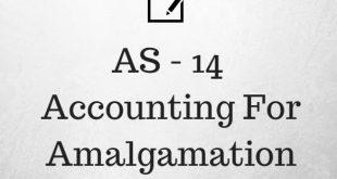 AS 14 Accounting For Amalgamation Revised Summary PDF