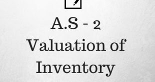 AS 2 Valuation of Inventory Revised Notes and Applicability