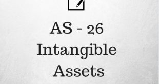 AS 26 Intangible Assets Applicability Summary Notes PDF