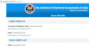 Caresults Nov 2017 | CPT Result