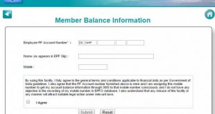 Member EPF Balance