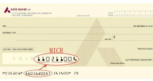 What is MICR (Magnetic Ink Character Recognition) Code on Cheque