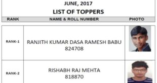 CS Professional Merit List Toppers June 2017